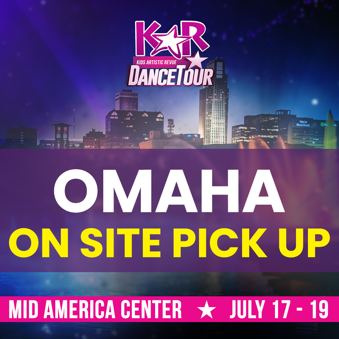 Omaha, NE – Merch On-site Pickup NOW AVAILABLE!!